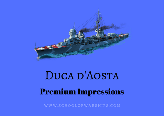 Duca d'Aosta Premium impressions by School of Warships