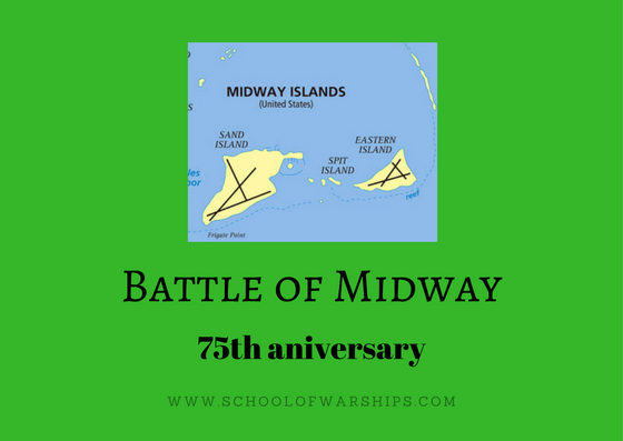 The Battle of Midway was a battle between the Japanese and Americans in world war 2