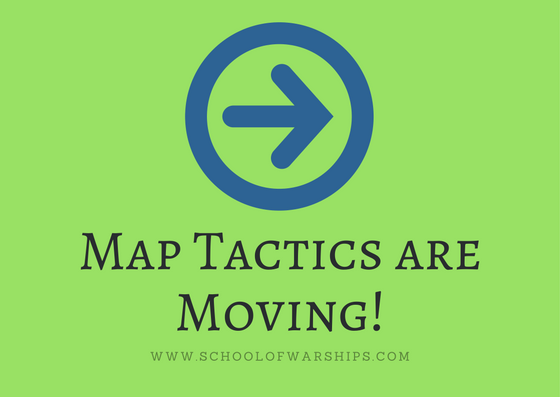 We are moving the map tactics on School of Warships!